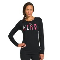 Under Armour Women's UA Power In Pink Hero Long Sleeve