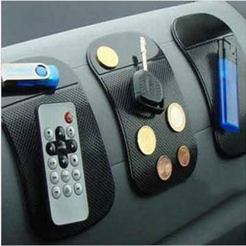 Interior Accessories for Mobile Phone mp3 mp4 Pad GPS Anti Slip Car Sticky Anti-Slip Mat