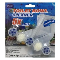 Amoray Toilet Bowl Cleaner 5 Pieces Seamist