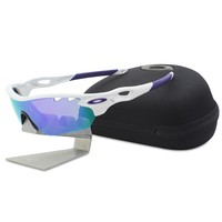 Oakley OO 9183-06 RADARLOCK EDGE White Violet VR28 Womens Sport Sunglasses