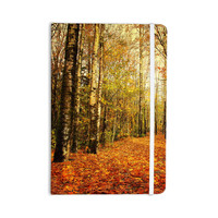 "Sylvia Cook ""Autumn Leaves"" Rustic Everything Notebook"
