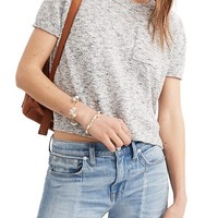 Madewell Pocket Tee Sweater | Nordstrom