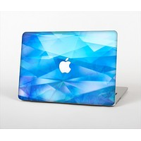 "The Blue Abstract Crystal Pattern Skin Set for the Apple MacBook Pro 15"" with Retina Display"