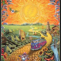 Grateful Dead Golden Road Poster 24x36