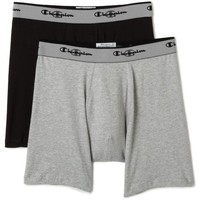 Champion Men's 2-Pack Double Dry Activefit Boxer Brief