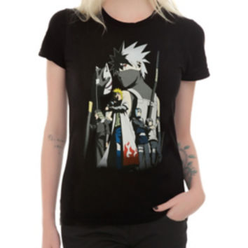 Naruto Shippuden Team Kakashi Girls T-Shirt