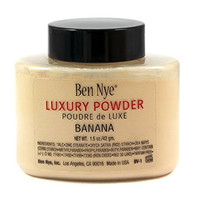 Ben Nye Banana Luxury Face Powder 1.5 oz / 42 gm Makeup Kim Kardashian Highlight