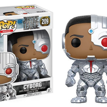 POP! MOVIES: DC - JUSTICE LEAGUE - CYBORG (PRE-ORDER)