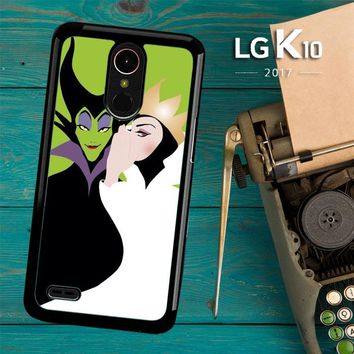 Evil Queen And Maleficent X4713 LG K10 2017 / LG K20 Plus / LG Harmony Case