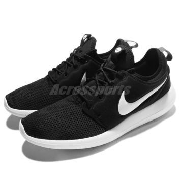 Nike Roshe Two 2 Black White Rosherun Men Running Shoes Sneakers 844656-004