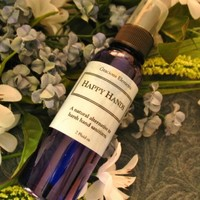 Hand Sanitizer Happy Hands Organic Essential Oils 2 ounce non-drying