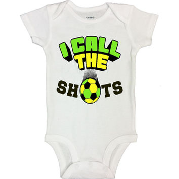 I CALL THE SHOTS - Funny Kids Onesuits and Shirts