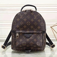 Louis Vuitton Fashion Leather Travel Bookbag Backpack Shoulder Bag