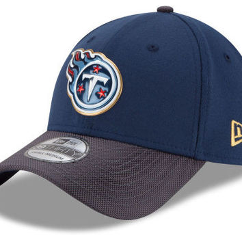 NFL Tennessee Titans New Era 39Thirty On Field Gold Collection Hat