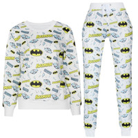 Fashion Batman Sportwear Set Men/Women Emoji Sweatshirt + Emoji Pant Sport Suit Unisex Emoji Joggers Pants Pullover Tops = 1927977732