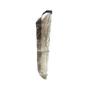 "Smoky Quartz Crystal ""club"" Point,  Natural Root Beer color smoke rock crystal, Mined in the gem fields of Brazil Natural Geo Gemstone Earth"