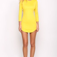 HelloMolly | Smoothie Dress Lemon - Party Dresses - Dresses