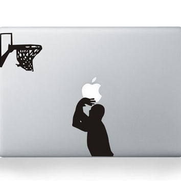 Play basketballdecals mac sticker mac macbook by AppleParadise