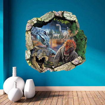 Create A Dinosaurs Room Wall sticker Jurassic Park Home Decor