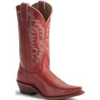 Sheplers: Nocona Red Legacy Cowboy Boots - Snip Toe