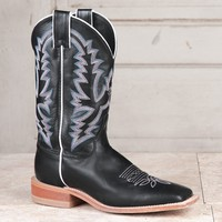 Justin Ladies' Black Bent Rail Boots - Western - Boots - Women's