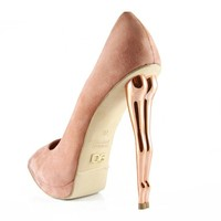 Dolly Rocky Nude high heel shoes