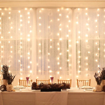 600 led 18 ft x 9 ft Window Curtain Lights String Fairy Light Wedding Party Home Garden Decorations CTR-600