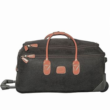 Bric's Luggage Life 21 Inch Carry On Rolling Duffle