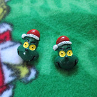 The Grinch Who Stole Christmas Earrings