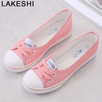 Women Loafers Shoes Ballet Breathable Women Flats Slip On Fashion Flats Shoes Women Casual Shoes