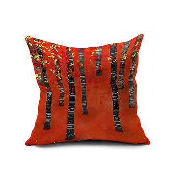 Autumn Innovative Strong Character Decoration Print Cushion Cover [6451625990]