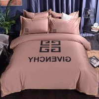 GIVENCHY Home Blanket Quilt coverlet 2 Pillows Shams 4 PC Bedding Set