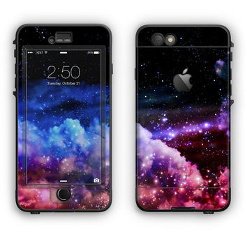 The Purple Blue and Pink Cloud Galaxy LifeProof Case Skin (Other LifeProof Models Available!)