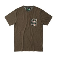 Raven Tee Heather Brown / HippyTree