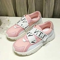Valentino Women Fashion Sneakers Sport Shoes