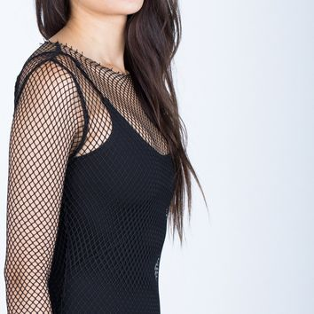 The Netted Party Dress