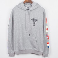 Boys & Men Stussy Top Sweater Hoodie