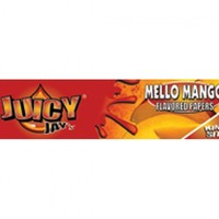 JUICY JAY'S MANGO KING SIZE FLAVORED PAPERS .. 24 PACKS/BOX