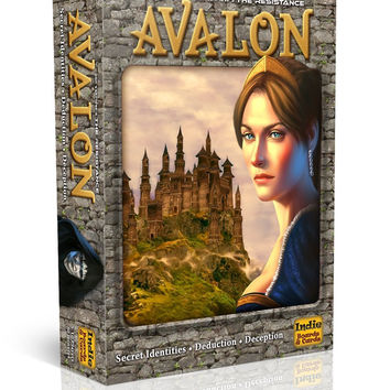 The Resistance: Avalon Social Deduction Game Original Packaging 1 '