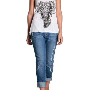 Elephant Print Camisole-FINAL SALE