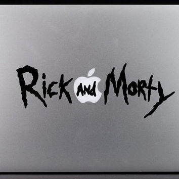 Rick and Morty Logo Decal