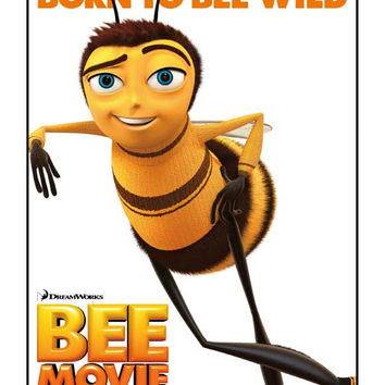 Bee Movie (German) 11x17 Movie Poster (2007)