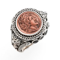 Konstantino 'Aeolus - Ptolemy' Coin Ring | Nordstrom