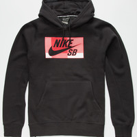 Nike Sb Icon Buffalo Mens Hoodie Black  In Sizes