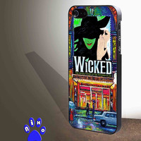 Wicked Broadway Musical watercolor for iphone 4/4s/5/5s/5c/6/6+, Samsung S3/S4/S5/S6, iPad 2/3/4/Air/Mini, iPod 4/5, Samsung Note 3/4 Case *NP*