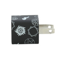 Supernatural Symbols Universal USB Wall Adapter