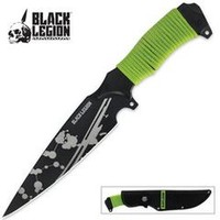 Black Legion Undead Spear Point Knife