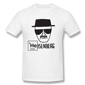 YANYU Breaking Bad Heisenberg Walter White Wear Hat Tshirts For Man S White
