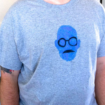 Arrested Development T-Shirt Tobias Funke David Cross Hit TV Comedy Show Hand Drawn Pulled Silkscreen