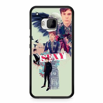 Evan Peters Collage HTC M9 Case